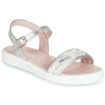 Shoes Girl Sandals Citrouille et Compagnie JIMINITE Pink / Dragonfly
