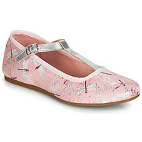 Shoes Girl Ballerinas Citrouille et Compagnie JANETTE Pink / Dragonfly