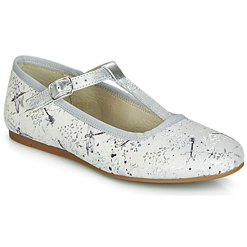 Shoes Girl Ballerinas Citrouille et Compagnie JANETTE Grey / Dragonfly