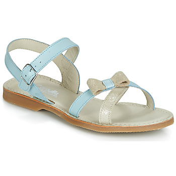 Shoes Girl Sandals Citrouille et Compagnie JISCOTTE Blue / Clear