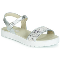 Shoes Girl Sandals Citrouille et Compagnie JIMINITE Grey / Dragonfly