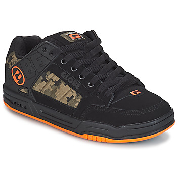 Shoes Men Low top trainers Globe TILT Black / Orange