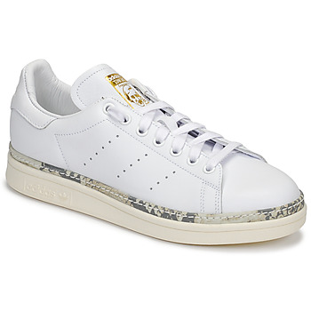 Shoes Women Low top trainers adidas Originals STAN SMITH NEW BOLD White