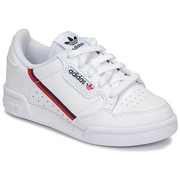Shoes Children Low top trainers adidas Originals CONTINENTAL 80 C White