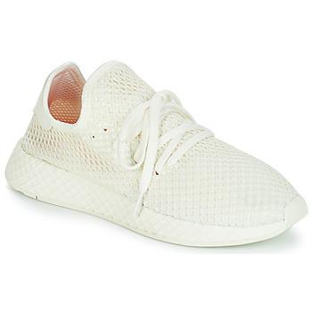 Shoes Low top trainers adidas Originals DEERUPT RUNNER White