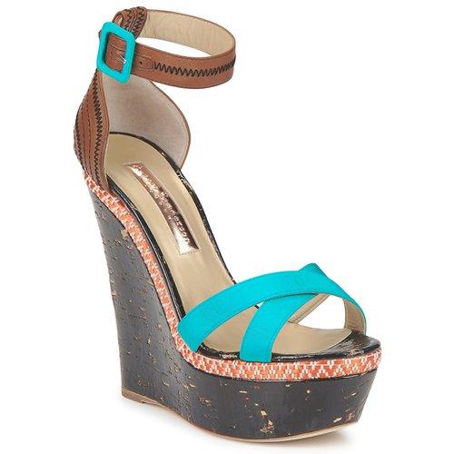 Shoes Women Sandals Rupert Sanderson NISSA Blue