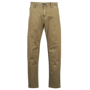 material Men chinos G-Star Raw BRONSON STRAIGHT TAPERED CHINO Beige
