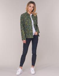 material Women Skinny jeans G-Star Raw LYNN ZIP MID SKINNY ANKLE Blue / Dark / Aged / Cobler