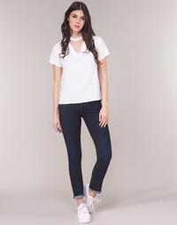 material Women straight jeans G-Star Raw MIDGE SADDLE MID STRAIGHT Blue / Dark / Aged