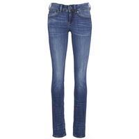 material Women straight jeans G-Star Raw MIDGE SADDLE MID STRAIGHT Blue / Medium / Indigo / Aged
