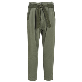 material Women chinos G-Star Raw BRONSON ARMY PAPERBAG Kaki