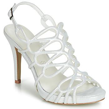 Shoes Women Sandals Menbur CLEMENTINA Ivory