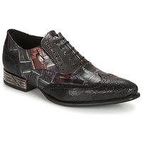 Shoes Men Brogue shoes New Rock SALSO Black
