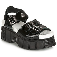 Shoes Women Sandals New Rock PLANEA Black