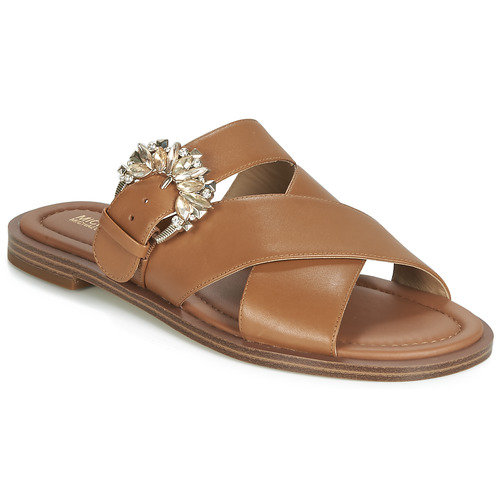 Shoes Women Mules MICHAEL Michael Kors FRIEDA SLIDE Brown