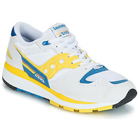 Shoes Men Low top trainers Saucony Azura White / Yellow / Blue