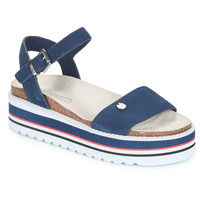 Shoes Women Sandals Esprit Abia Plat Sanda Marine