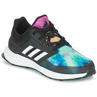 Shoes Girl Running shoes adidas Performance RAPIDARUN X K Black