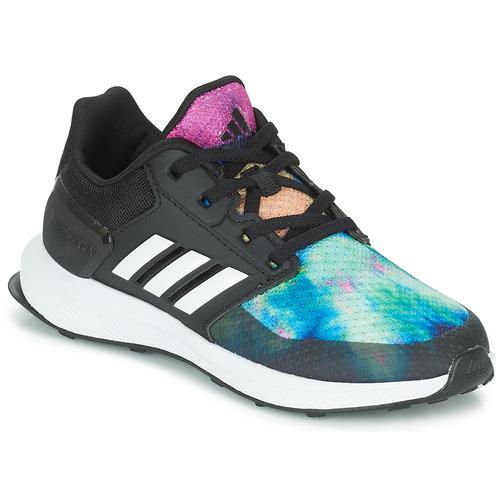 Shoes Girl Running shoes adidas Performance RAPIDARUN X K Black