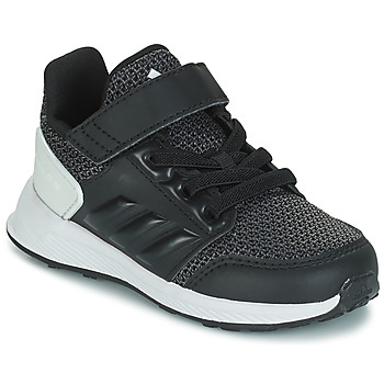 Shoes Children Running shoes adidas Originals RAPIDARUN EL I Black