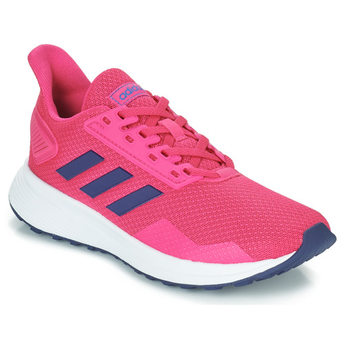 Shoes Girl Running shoes adidas Performance DURAMO 9 K Pink