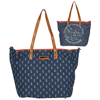 Bags Women Shoulder bags Les Tropéziennes par M Belarbi GUETHARY 02 Blue