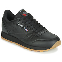 Shoes Low top trainers Reebok Classic CL LTHR Black
