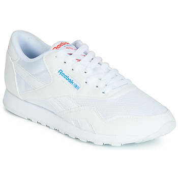 Shoes Women Low top trainers Reebok Classic CL NYLON TXT White