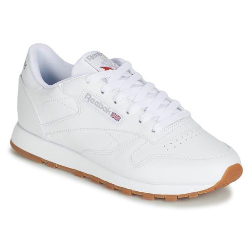 Reebok Classic CL LTHR White - Fast