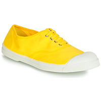 Shoes Women Low top trainers Bensimon TENNIS LACETS Citron