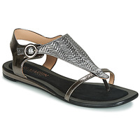 Shoes Women Sandals JB Martin ARMOR Black / Silver
