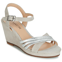 Shoes Women Sandals JB Martin QUOLIDAYS Grey