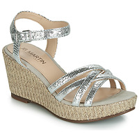 Shoes Women Sandals JB Martin DAME Silver
