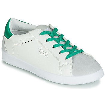 Shoes Women Low top trainers Les Petites Bombes ABIGAELE White