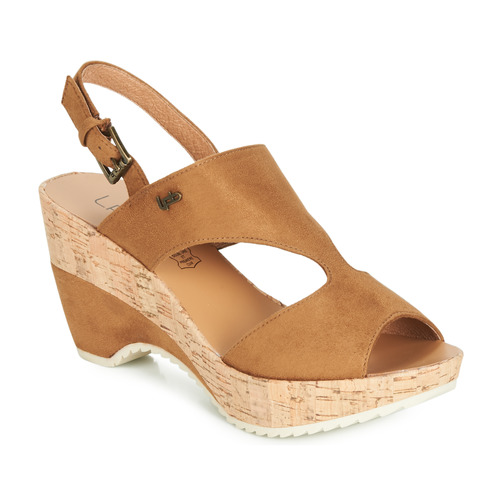 Shoes Women Sandals Les Petites Bombes JACINTHE Camel