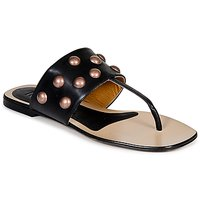 Shoes Women Flip flops Keyté DELLIA Black