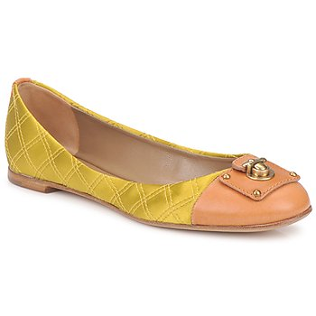 Shoes Women Ballerinas Marc Jacobs MJ18091 Yellow
