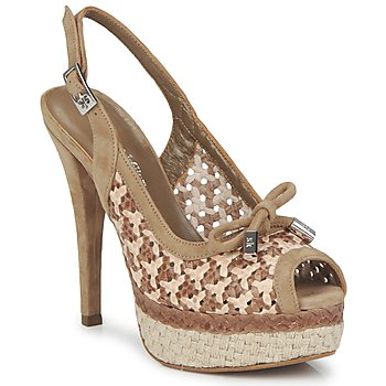 Shoes Women Sandals Stéphane Kelian LUDILOU Dune argile