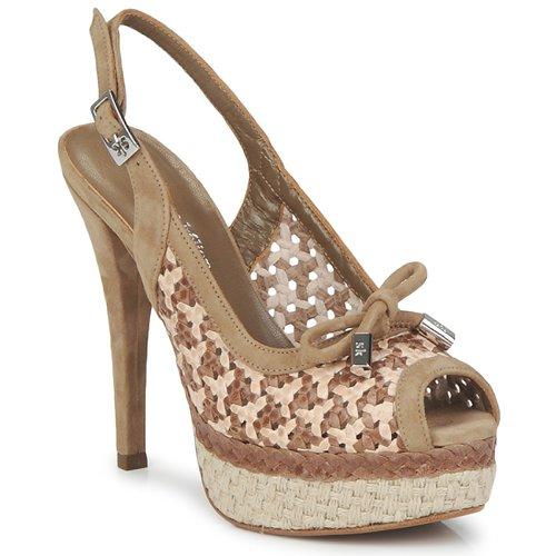 Shoes Women Sandals Stéphane Kelian LUDILOU Dune Argile