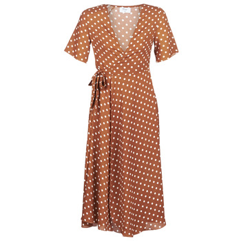 material Women Long Dresses Betty London KEYLA Brown