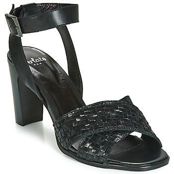 Shoes Women Sandals Perlato DOMINIKA Black
