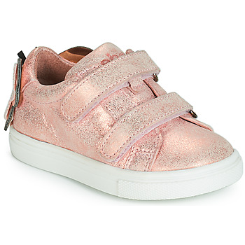 Shoes Girl Low top trainers Acebo's BAMBU Pink