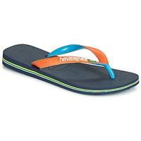 Shoes Flip flops Havaianas BRASIL MIX Marine / Orange
