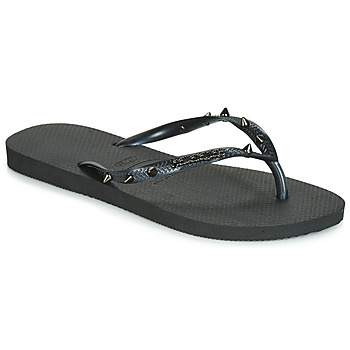 Shoes Women Flip flops Havaianas SLIM HARDWARE Black