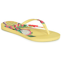 Shoes Women Flip flops Havaianas SLIM SENSATION Yellow