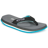 Shoes Men Flip flops Cool shoe BUTTON Grey / Turquoise