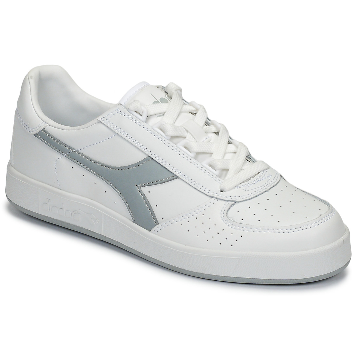 Premise Beautiful woman Repel  Diadora B ELITE White / Grey - Fast delivery | Spartoo Europe ! - Shoes Low  top trainers 64,00 €