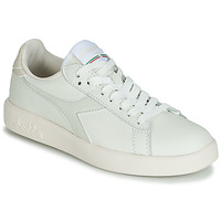 Shoes Women Low top trainers Diadora GAME WIDE Ecru / Grey