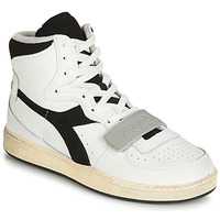 Shoes High top trainers Diadora MI BASKET USED White / Black