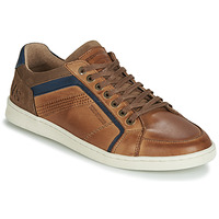 Shoes Men Low top trainers Redskins ORMANI Cognac / Marine